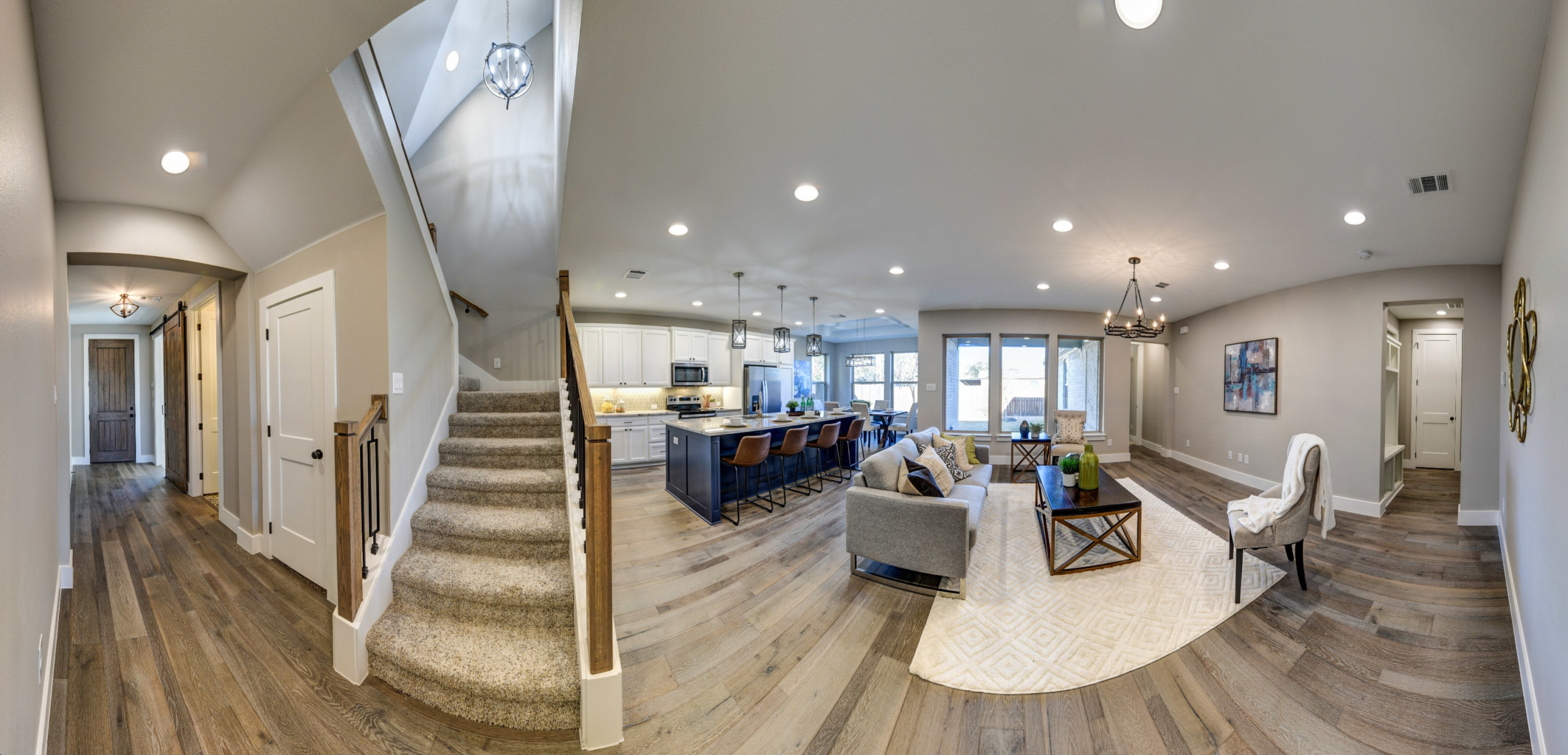 Panoramic View of First Floor