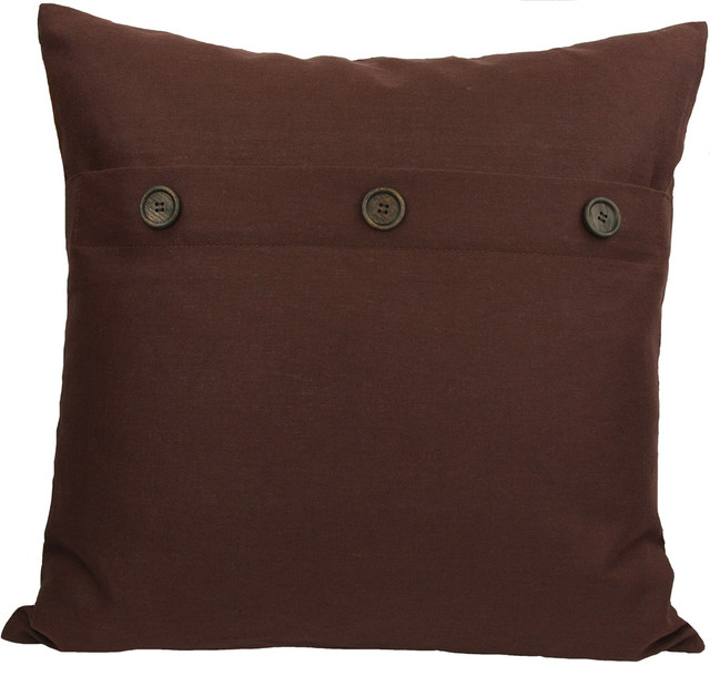 40 Solid Color Pillow With Buttons Contemporary Decorative Classy Decorative Pillows With Buttons