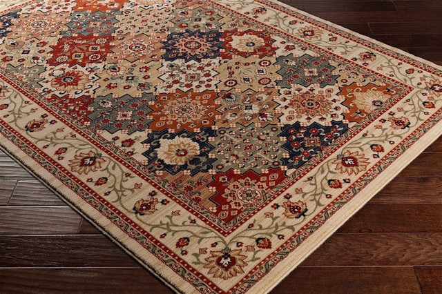 FaveDecor Contemporary Poisa Neutral, Brown Area Rug, 2'x3'3""