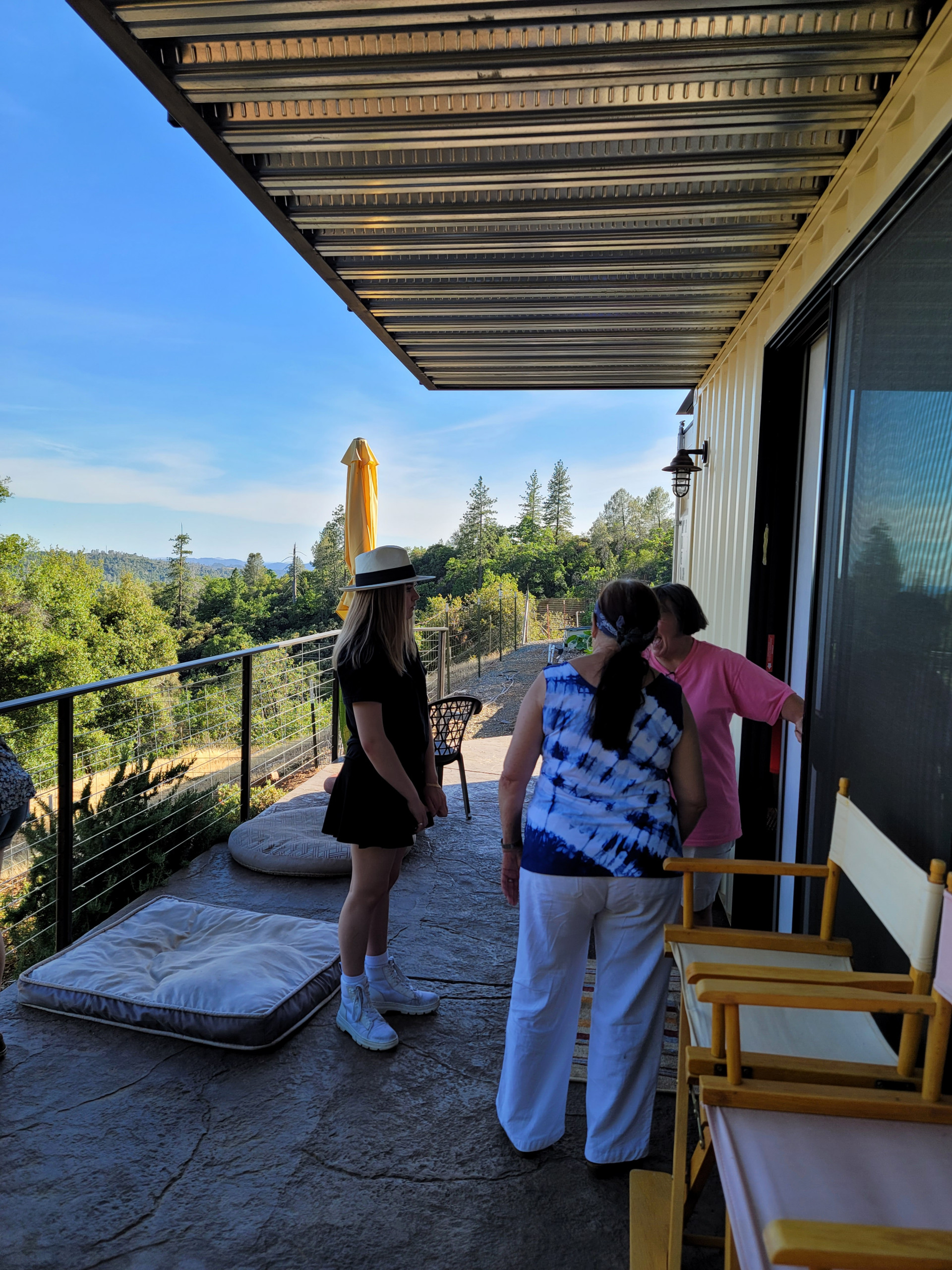 Shipping Container Guest House | Sugar Pine Drive