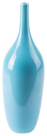 Tall Vase, Turquoise