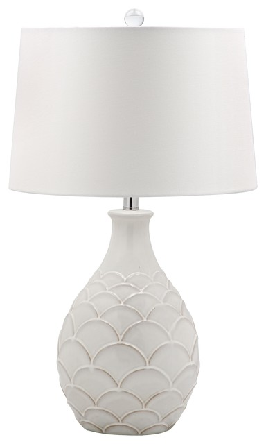 Scalloped Leaf Table Lamp Transitional Lamps