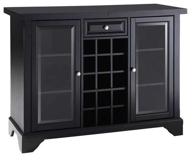 LaFayette Sliding Top Bar Cabinet - Wine And Bar Cabinets - by Crosley