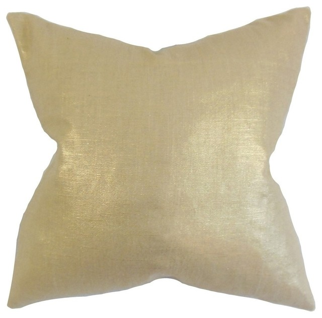 The Pillow Collection Berquist Solid Throw Pillow Cover