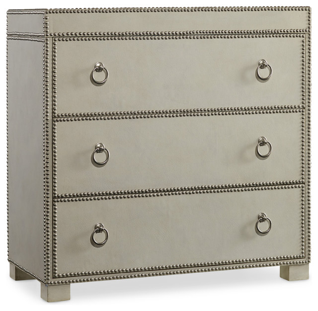 Hooker Furniture Three Drawer Chest 5230 85001 Transitional Dressers