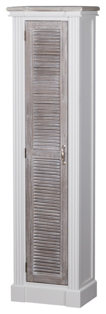 The Liberty Collection Tall Cabinet With Louvred Doors