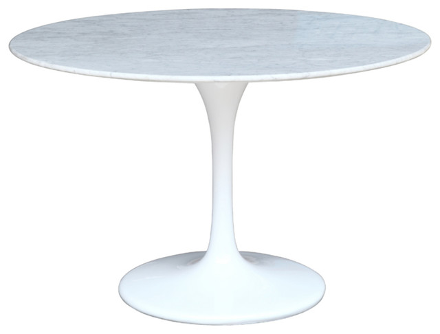 Fine Mod Imports Flower Marble Table Dining Tables By In Style Modern