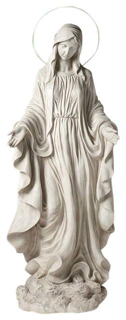 Design Toscano Blessed Virgin Mary Heavens Light Statue