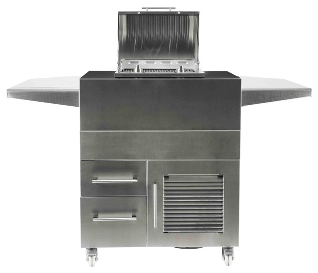 Coyote Electric Grill Island Cart.