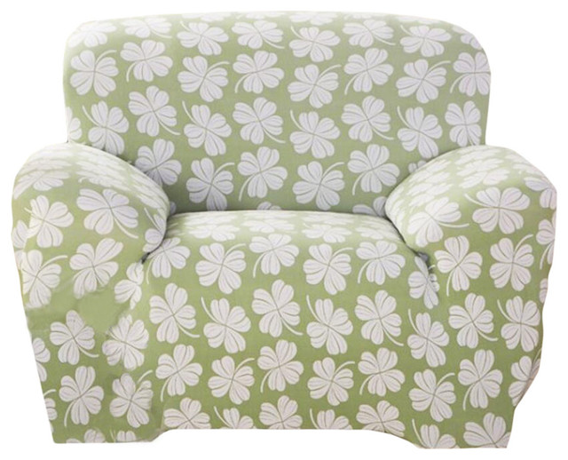 Lucky Leaves Sofa Slipcover, Modern Sofa Couch Throw
