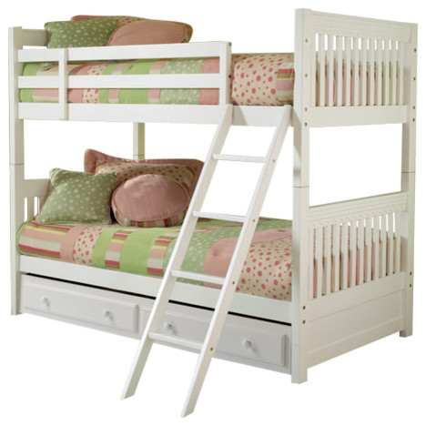 Lauren Bunk Bed With Storage Drawer, Twin.