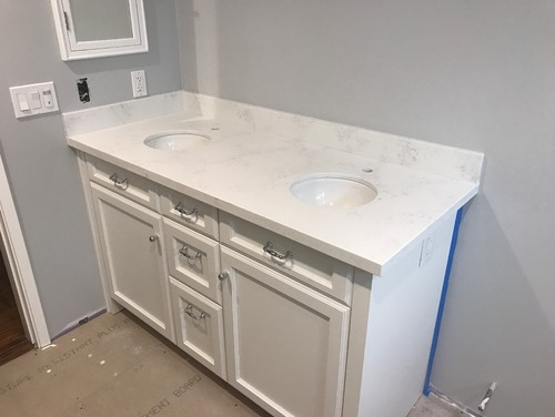 Bathroom Vanity Counter Overhang Too Much