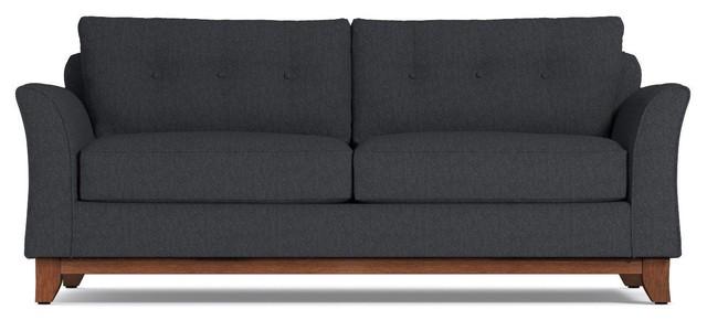 Marco Queen Size Sleeper Sofa, Innerspring Mattress, Charcoal