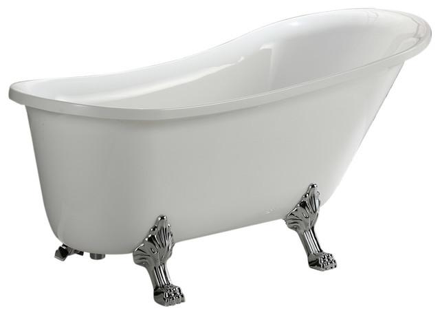Rosalind Clawfoot Bathtub, Small.
