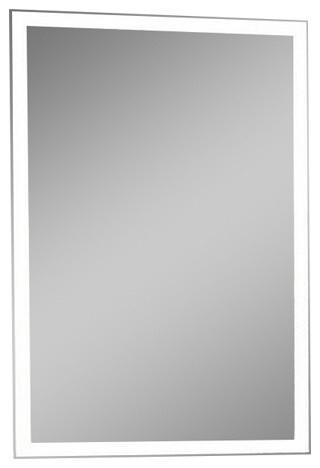 "Ib Mirror Dimmable Lighted Bathroom Mirror Galaxy 24""x36"", 6000 K."