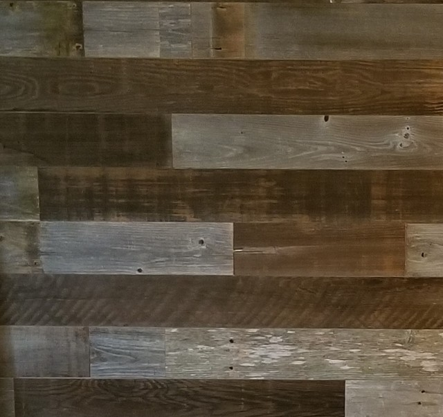 Diy Peel And Stick Reclaimed Barn Wood Wall Panels Home Decor 10 Sq Ft