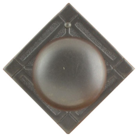 Vt-18 Victorian Knob Pull, Dark Antique Lacquered.