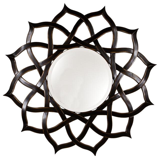 Black Rose Mirror