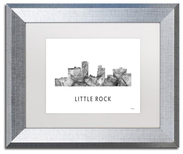 marlene watson little rock arkansas skyline matted