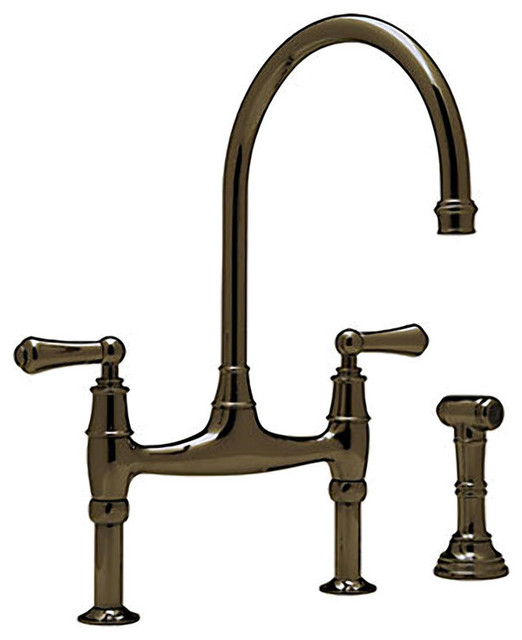 Rohl U 4719l Ulb 2 English Bronze Perrin And Rowe Bridge
