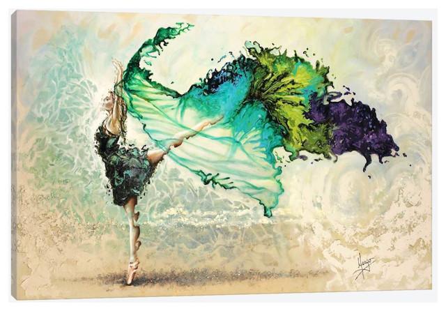 Like Air I&x27;ll Raise By Karina Llergo Canvas Print, 60x40.