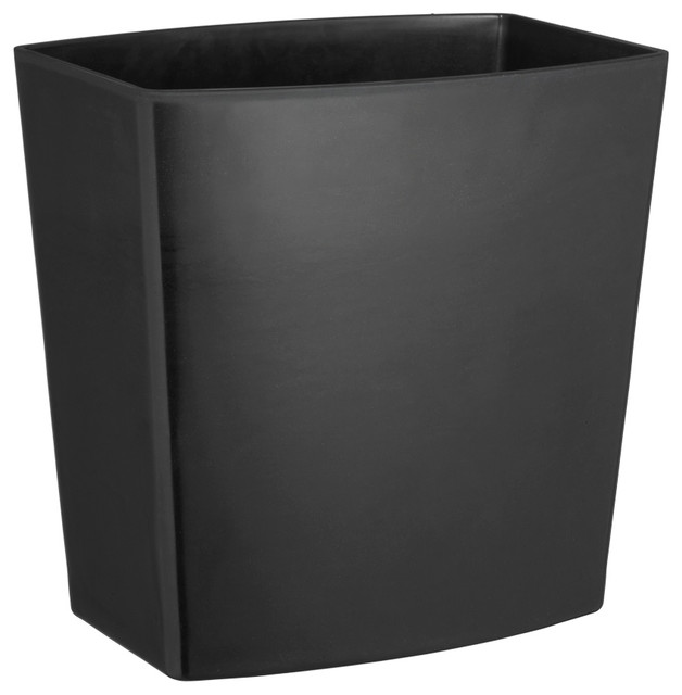 Shop houzz kraftware corp kraftware my earth bar wastebasket chocolate brown wastebaskets - Modern wastebasket ...