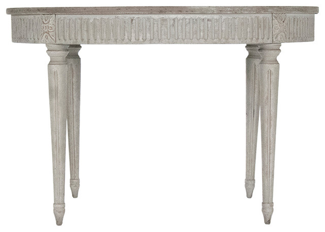 antique white wash dining set. bree french country antique style distressed white wash dining table traditional-dining-tables set