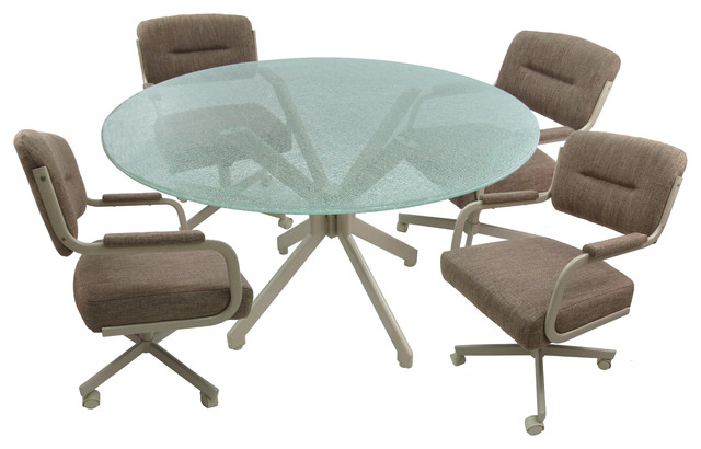 Dinette Table With Swivel Chairs