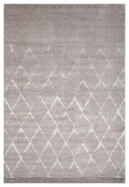 Nourison Twilight Grey Rug, 168x244 Cm