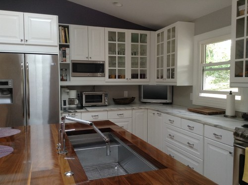 Kitchen Corner Cabinets Options - Top View With Measurements For A ...