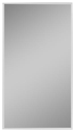 """R3 Series 20""""x36"""" Medicine Cabinet, Flat Door, Beveled Edge Mirrored Door."""