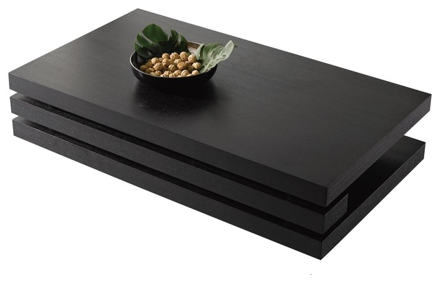 Morlita Coffee Table Black Modern Coffee Tables by NEW SPEC INC