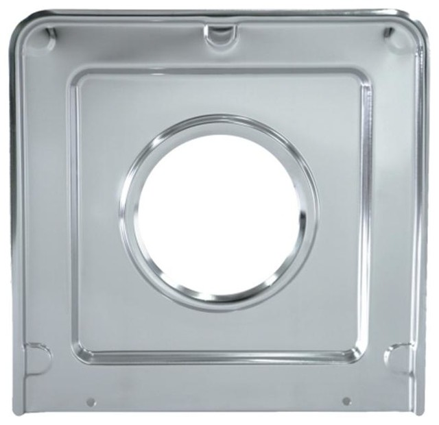 Range Kleen 9 Chrome Square Drip Pan.
