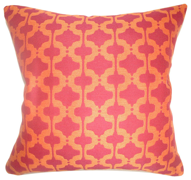 Illica Moorish Floor Pillow Chili Pepper.