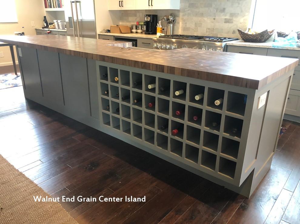End Grain Countertops