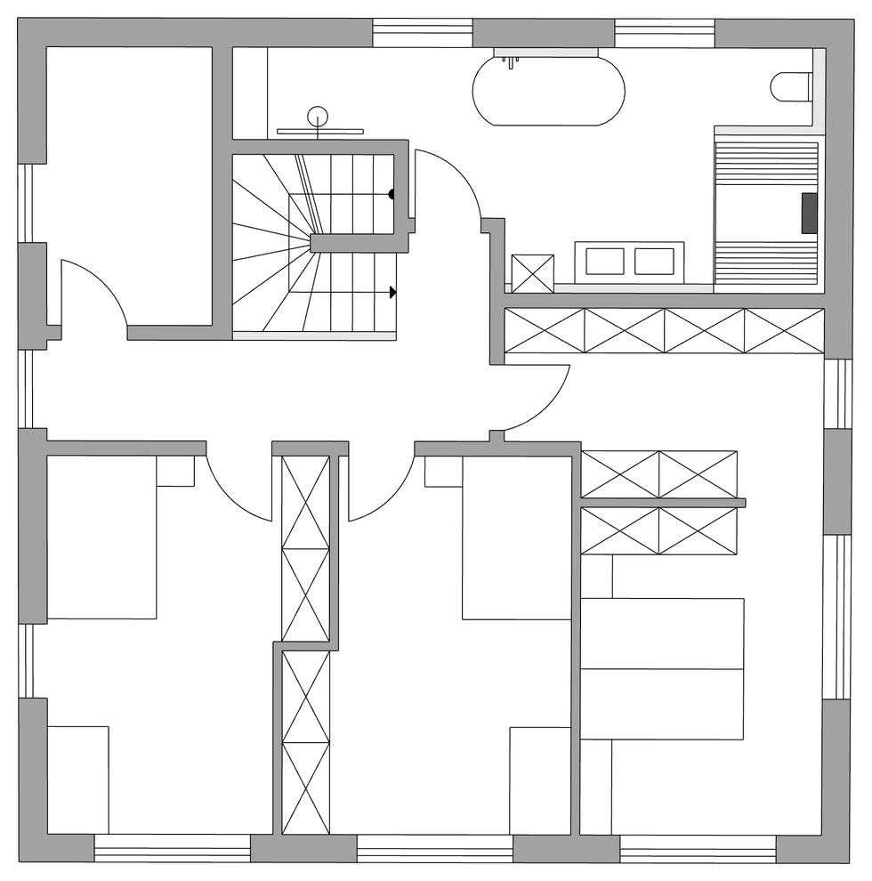 Optimierung Grundriss Badezimmer