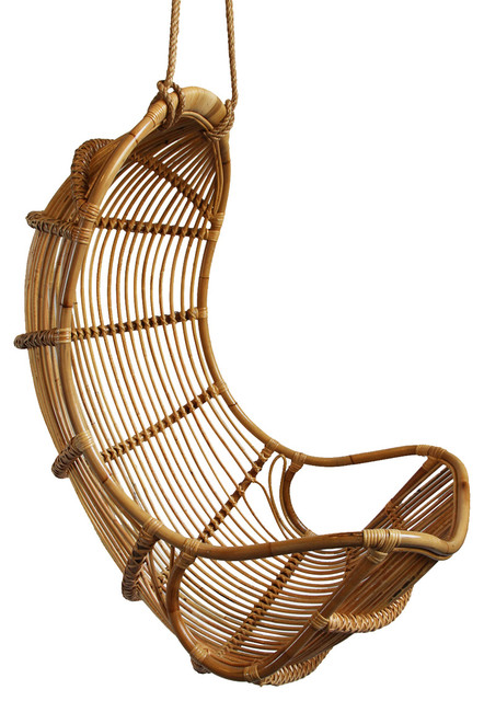 Hanging Bamboo Scoop Chair Tropical Hammocks And Swing Chairs By Design Mix Furniture