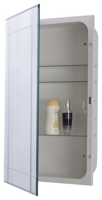 Mirrored Medicine Cabinet.