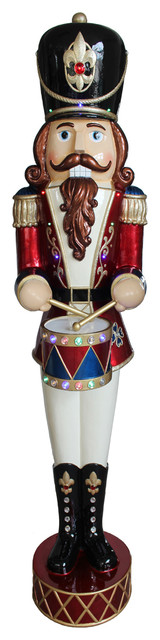 """72"""" Pre-Lit Animated & Music Playing Nutcracker Decoration"""