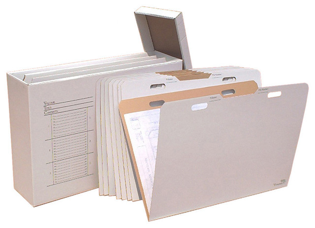 "AOS Vertical Flat Storage With 8 VFolder's for up to 24""x36"" Documents - Transitional - Filing ..."
