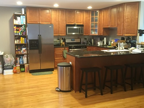Advice For Cherry Wood Kitchen Cabinets U0026 Wood Flooring