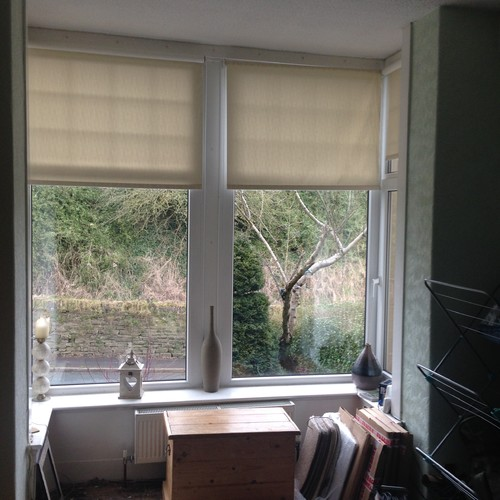 Window Dressing For A Square Bay Window