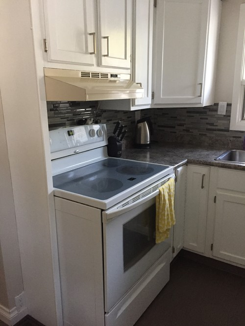 (The First Picture Shows The Current Range Hood, The Second   The Microwave  Placement, And The Last One Is The Kitchen) Thanks In Advance For The Input!