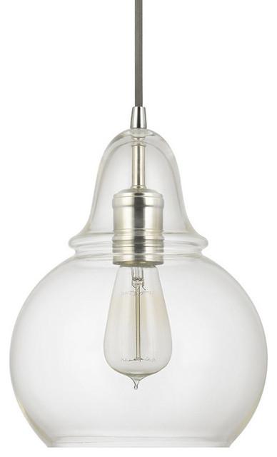 Capital Lighting 4644-143 1 Light Mini Pendant.