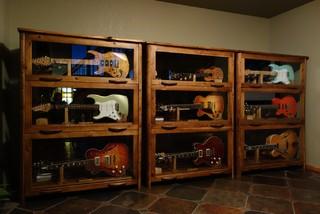 Music Room Furniture - Contemporary - Portland Maine - by Katahdin Studio Furniture