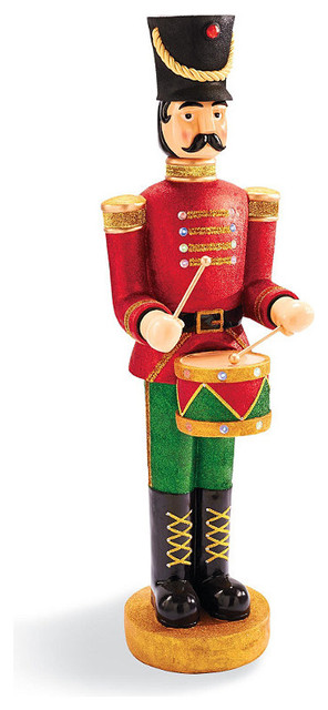 animated drummer soldier frontgate outdoor christmas decorations - Christmas Soldier Decorations