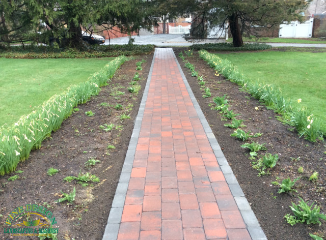 Cambridge Pavers Brick Walkway New York By Fine Design