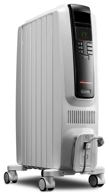 High Performance Radiant Heater With Electronic Controls
