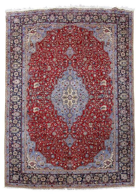 Persian Rug 10 X15 Handmade Wool