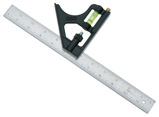 """Stanley Hand Tools 12"""" Combination Square."""
